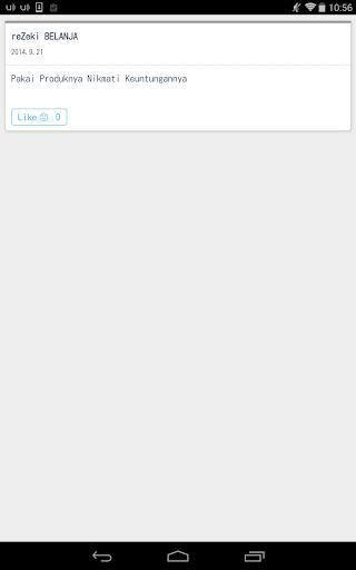 【免費商業App】reZeki BELANJA-APP點子