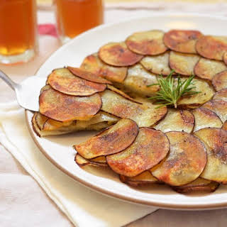 Potato and Leek Galette.