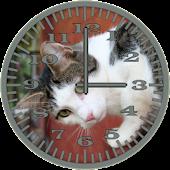 Cat 4 WallCat Analog Clock