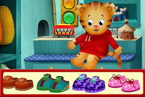 Screenshot of Daniel Tiger's Day & Night