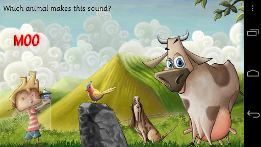 The Sound of Animals app for Android screenshot