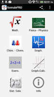 Screenshot of formule Pro