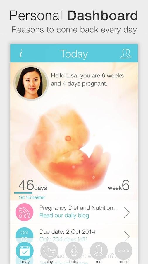 Pregnancy ++ - screenshot