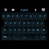 GO Keyboard Dark ICS Theme