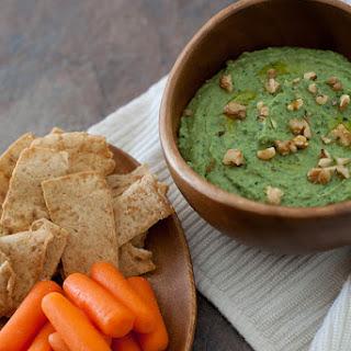 Kale Pesto White Bean Dip