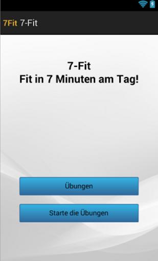 7Fit - Das 7 Minuten Training