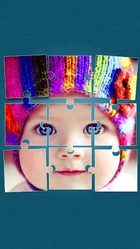 可愛的寶寶 拼圖 遊戲