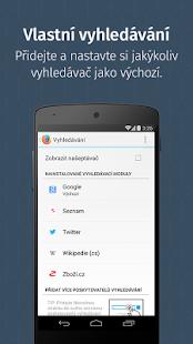 Firefox - rychlý prohlížeč - náhled