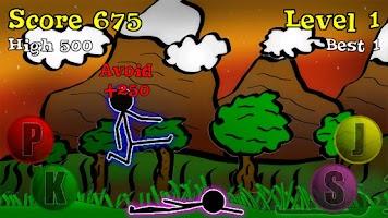 Screenshot of Sticky Ninja