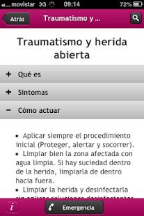 Primeros Auxilios - screenshot thumbnail