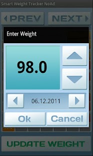 Smart Weight Tracker Ad Free - screenshot thumbnail