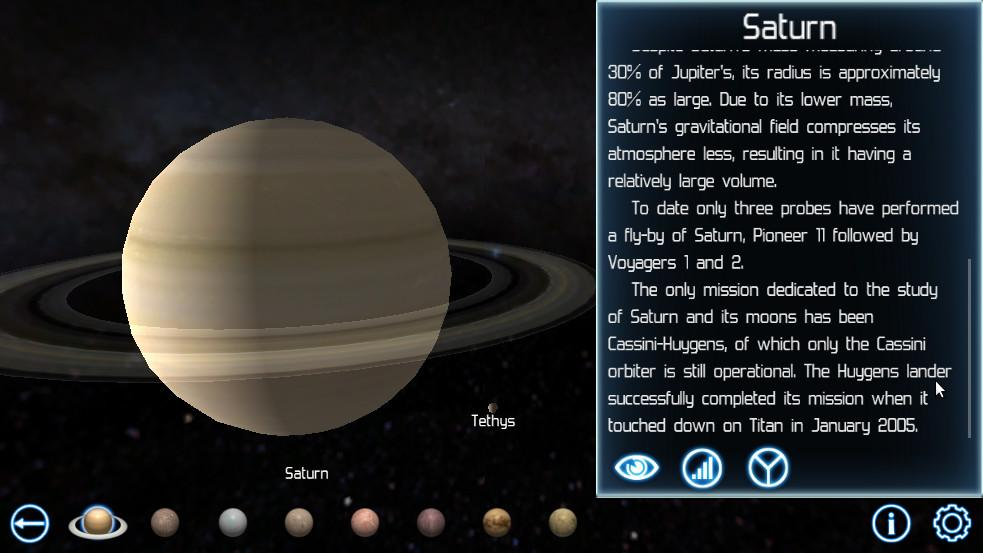 Solar System Explorer - screenshot
