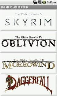 The Elder Scrolls Books