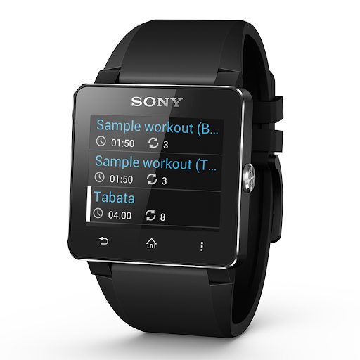 HIIT 索尼 SmartWatch 2