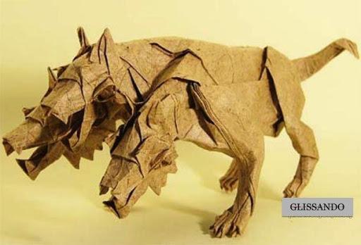 高级神话生物折纸教学