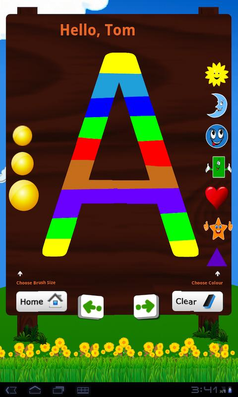 Learn Alphabet - English - screenshot