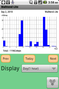 Walttend Lite - Pedometer- screenshot thumbnail