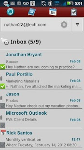 Hotmail ActiveSync 4 Tab- screenshot thumbnail