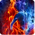 Magic Effect: Ice Fire Lovers icon