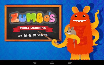 Zumbo's Early Learning Screenshot 9