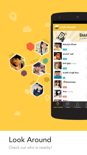 BeeTalk app screenshot