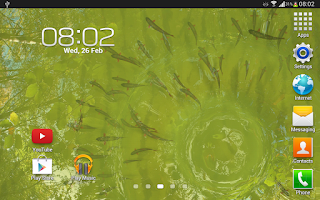 Screenshot of True Water Free Live Wallpaper