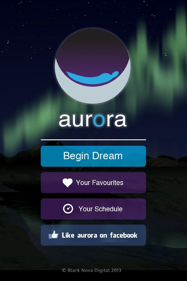 Aurora Dreams Sleeping Sounds - screenshot