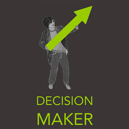 Decision Maker App Art LOGO-APP點子
