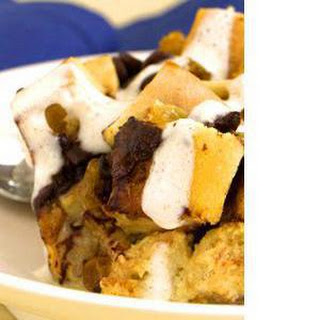 Slow-​Cooker Apple-​Bread Pudding