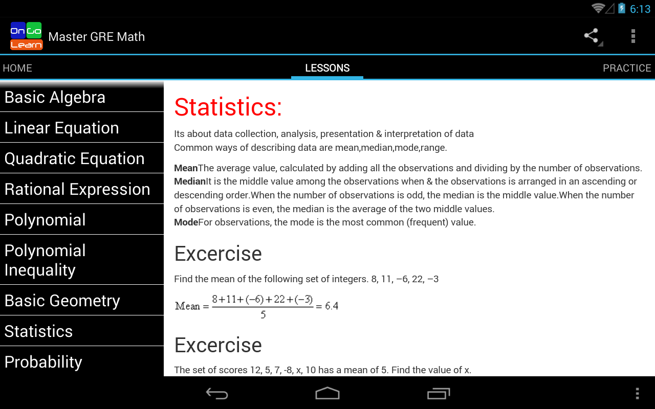 Master SAT Math- screenshot