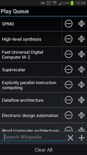 Wikipedia Lecturer Pro for Android - Version 2 4 1 | Free