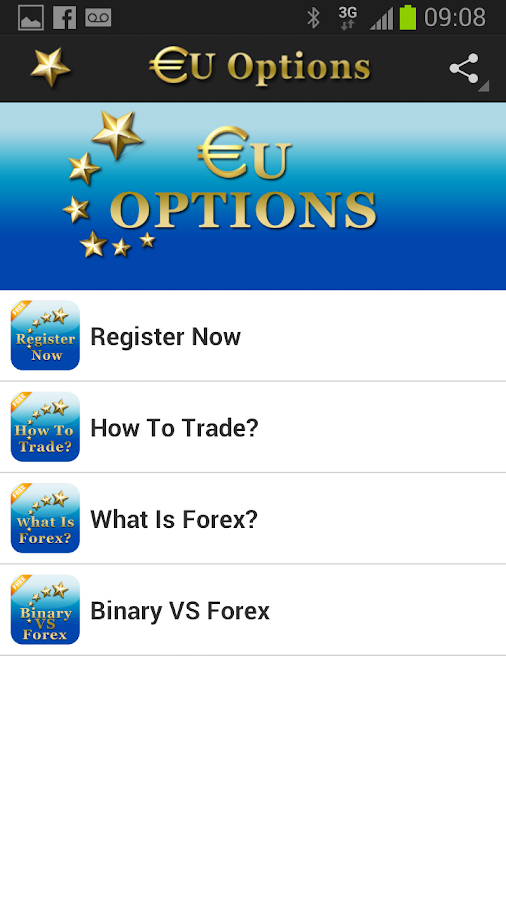 EUOptions - screenshot