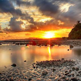 East Tajung Beach by Azay Boyan - Landscapes Sunsets & Sunrises