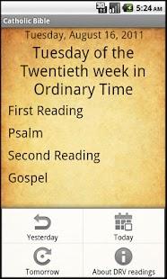 Catholic Bible- screenshot thumbnail