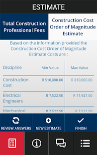 MMQS Cost Calculator- screenshot thumbnail