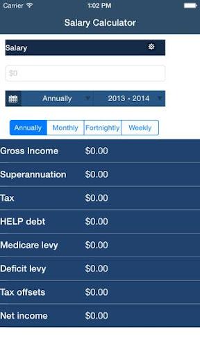 Australian Salary Calculator