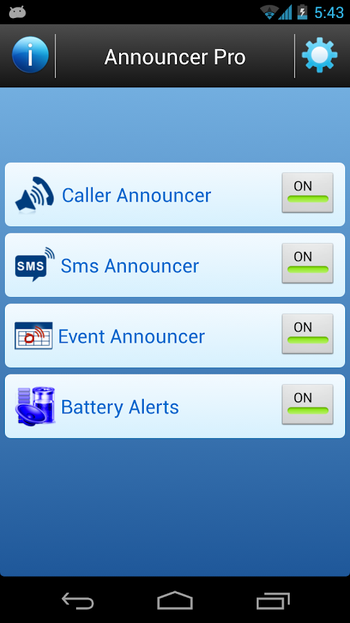 Caller Name Announcer Pro-Talk - screenshot