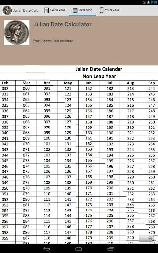 【免費生產應用App】Julian Date Calc-APP點子