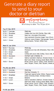 mySymptoms Food Diary v4.4.4 (Build-73)
