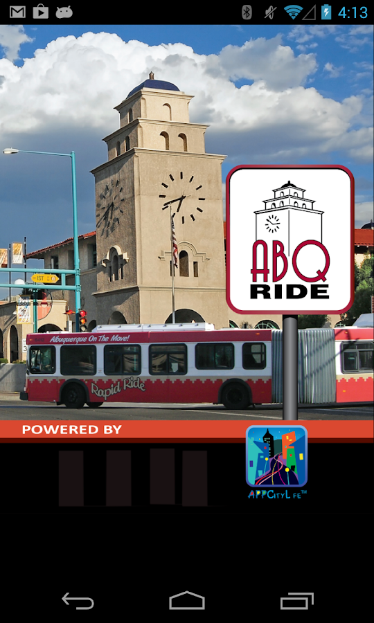 ABQRIDE - screenshot