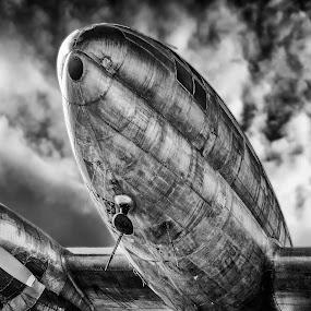 Boneyard 05 by Apollo Reyes - Transportation Airplanes ( old, airplane, bomber, rusty )