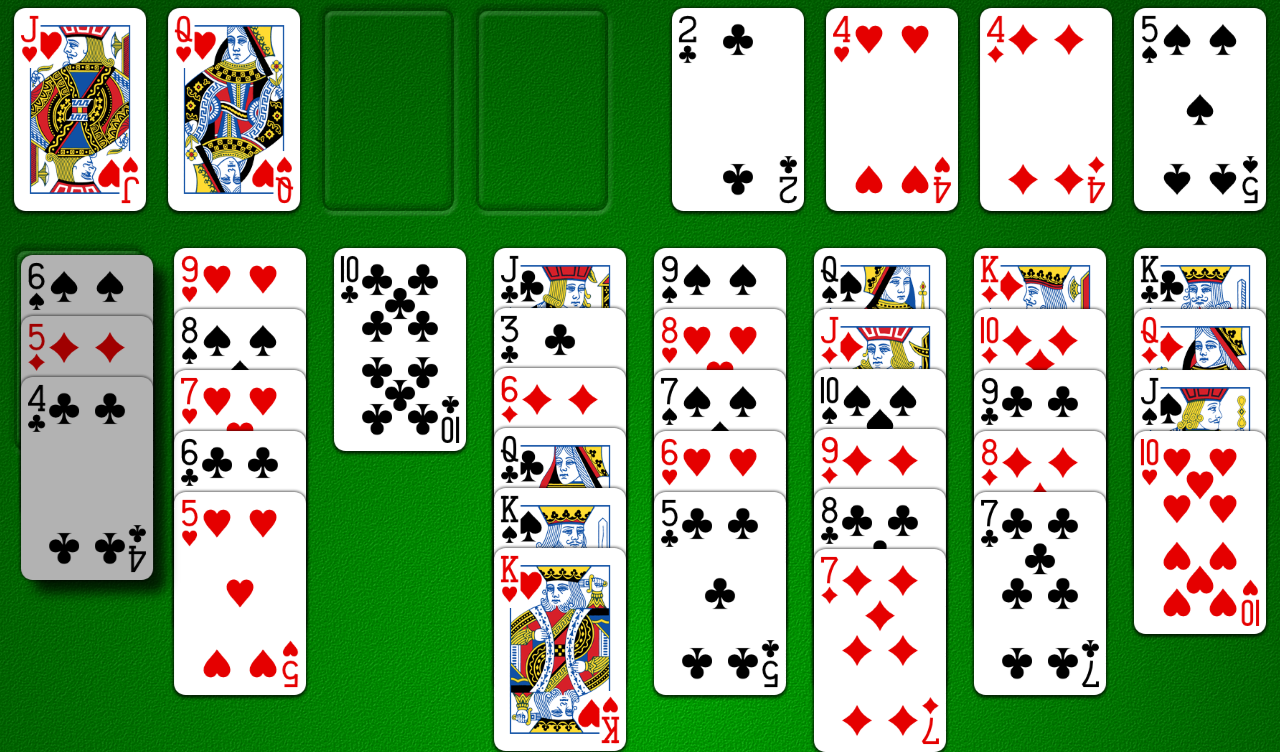 cell solitaire game