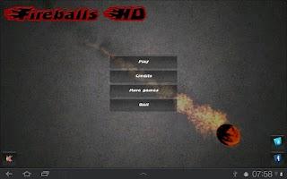 Screenshot of Fireballs HD