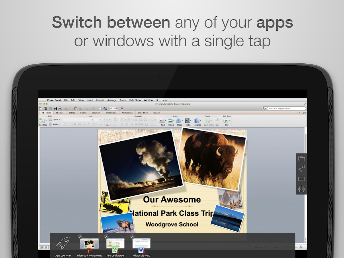Parallels Access- screenshot