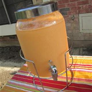 Tropical Orange-Guava Punch.