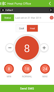 CTSmall heat pump controller- screenshot thumbnail