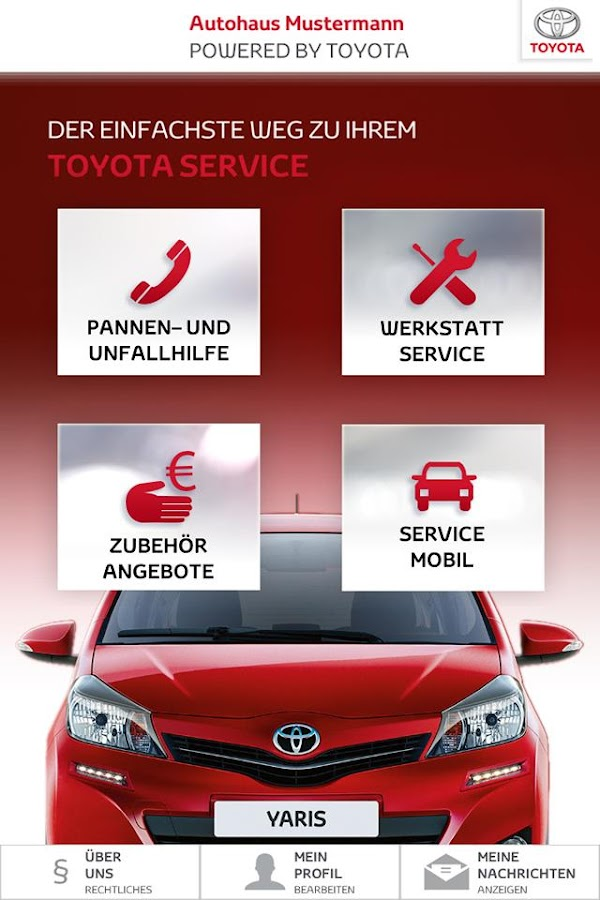 Toyota Service- screenshot