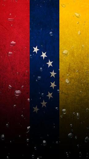 Venezuela flag water effect