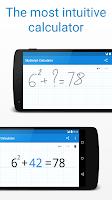 Screenshot of MyScript Calculator