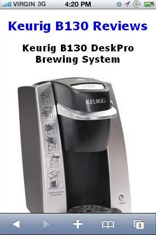 B130 DeskPro Brewing Reviews